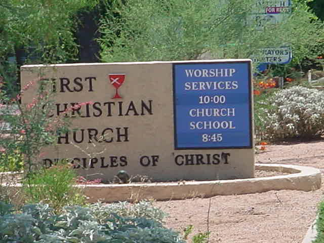 First Christian Church<br>disciples of Christ