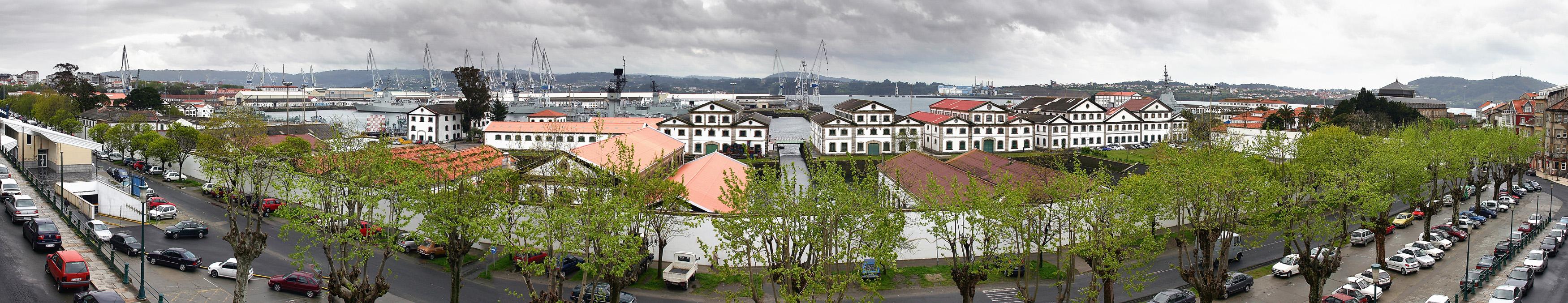 Ferrol Port (Galiza, Spain)