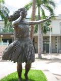 Hula Dancer at the Aloha Tower