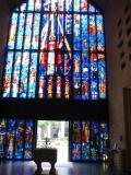 St Andrew Church, inside windows