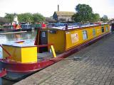 Yellow barge