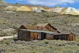 House and mine-tailings