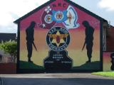 First in a series of pictures of Protestant/Unionist murals in West Belfast (Shankill Road area).
