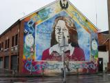 More murals, this one commemorating Bobby Sands.