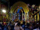 parthasarathi inside the kannadi pallakku (9th day evening)
