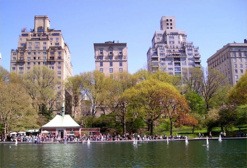 Boat Pond in Central Park