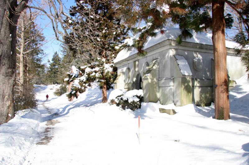 Snow & Mausoleum