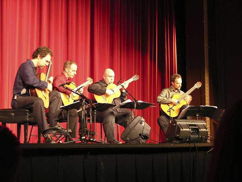 Los Angeles Guitar Quartet performs at ISU DSCN0467.jpg