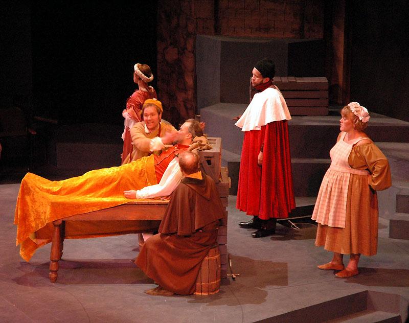 Theater ISU Man of La Mancha historic performance at Bistline Theater -- first run in the new performing arts ctr DSC_0154.jpg