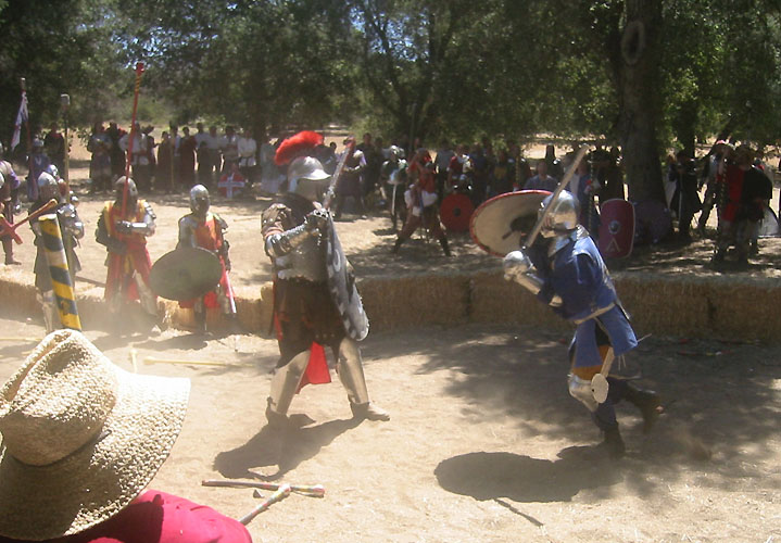 King Dirk of Caid fights the King of Attenvenlt