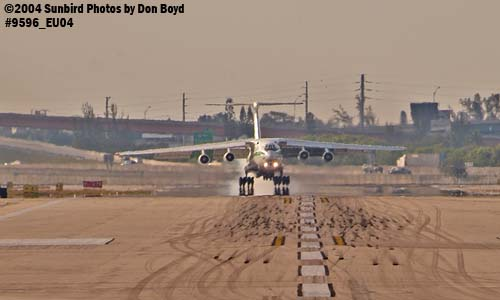 Algerian Air Force IL-76TD 7T-WIU military aviation stock photo #9596