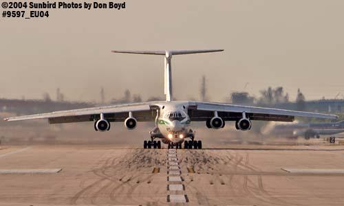 Algerian Air Force IL-76TD 7T-WIU military aviation stock photo #9597