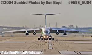 Algerian Air Force IL-76TD 7T-WIU military aviation stock photo #9598