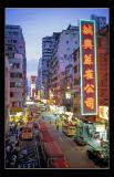The busy Mong Kok