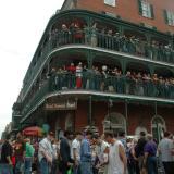 Bourbon Street balconies