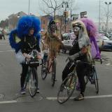 More Mardi Gras cyclists