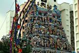 Sri Veerama Kaliamman Temple, Little India (detail)
