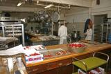 Termini Bakery - the preparation area
