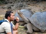 005 Julian (our guide) with giant tortoises.jpg
