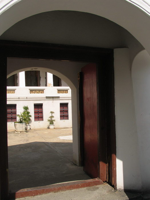 Gates were open