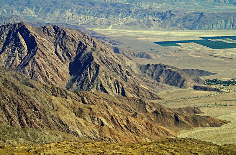 Edge of the Mojave desert, California