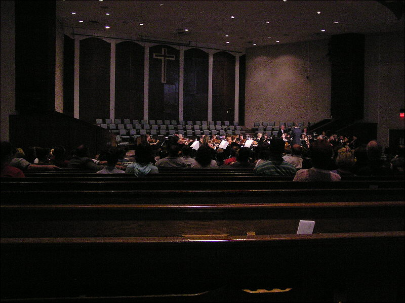Fort Worth Symphony at BCC 2004