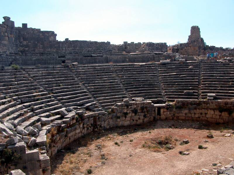 06 Xanthos, amphitheatre