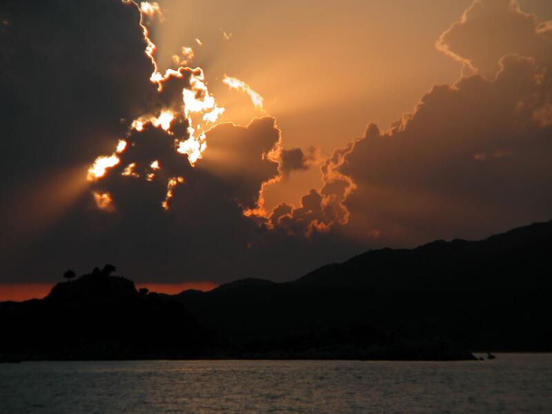 52 Sunset from Tersane Bay