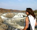Gazing over the Great Falls of the Potomac
