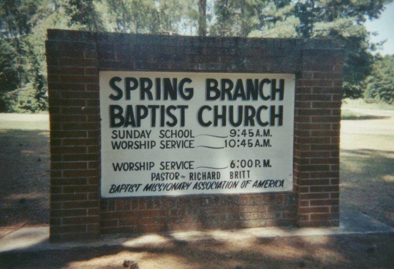 Spring Branch - Boyett Ethel Dred