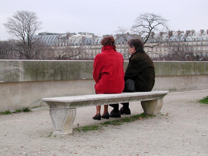 Two Ladies in Paris