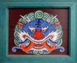 Buddhist Temple Door Panel