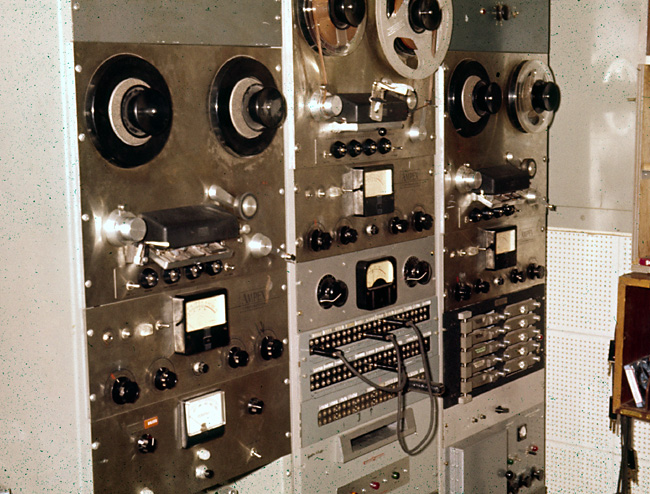 Equipment Racks Main Control Room - 1962