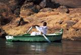 Sur le Nil près d'Assouan