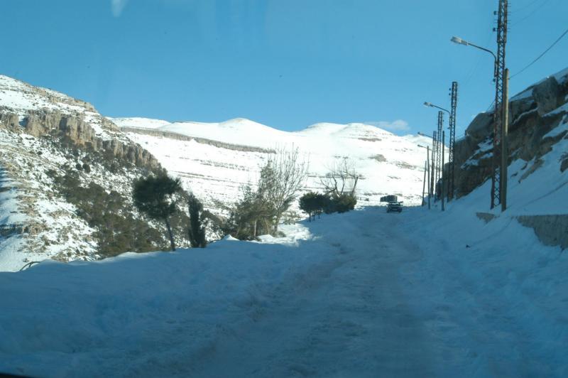 Snow in Ehden
