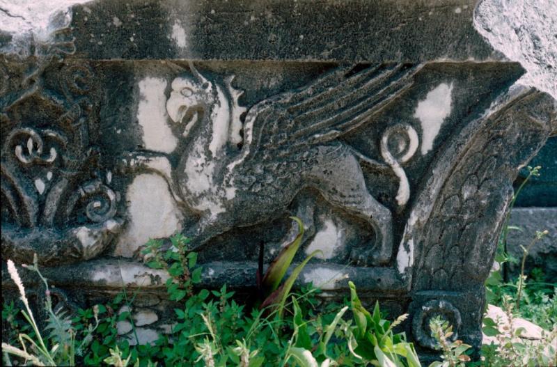 Dydima Apollo temple detail 5