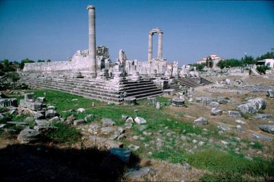 Dydima Apollo temple a view 2
