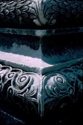 Dydima Apollo temple front corner 2