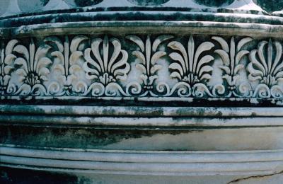 Dydima Apollo temple pillar foot 3