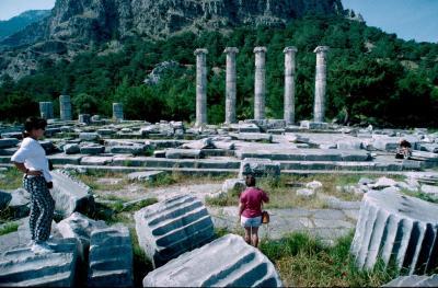 Priene temple Atena 1