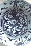Porcelain dragon bowl