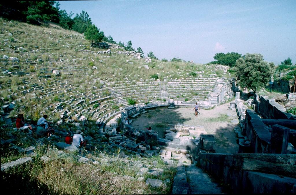 Priene theatre 1