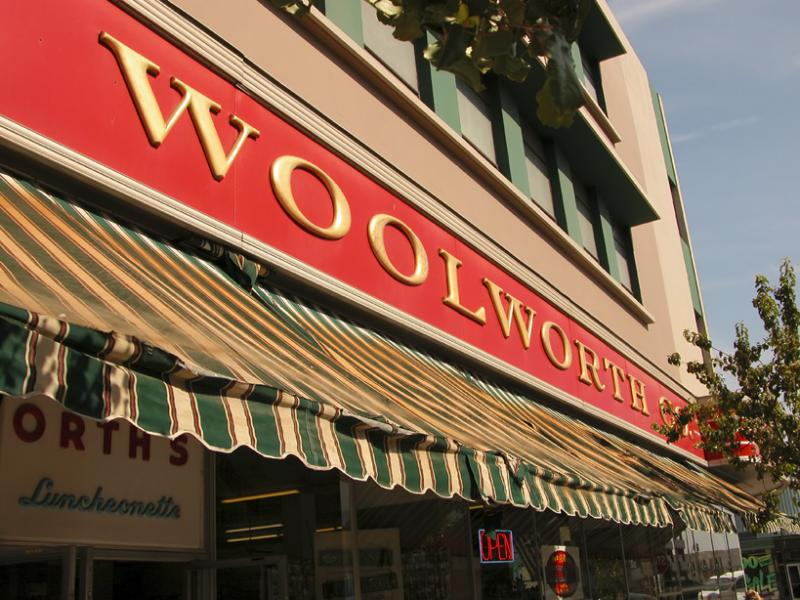 Woolworths in downtown Bakersfield