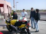 JSriders ride to Payson for breakfast at the Small Cafe, April 7, 2002
