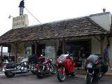 Ed and Ron head back to Dudley's Bakery in Santa Ysabel