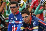Fred Rodriguez and George Hincapie