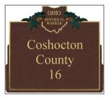 Coshocton County Historical Markers