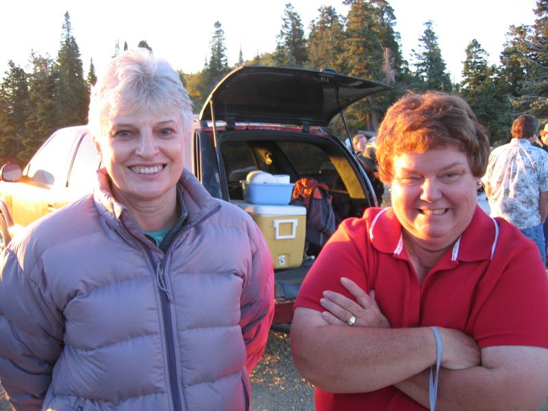 Carolyn & Krissys Mom, Peggy
