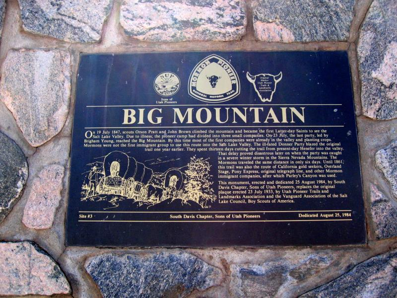 BIG MOUNTAIN AID STATION<BR>MILE 39.4</BR>
