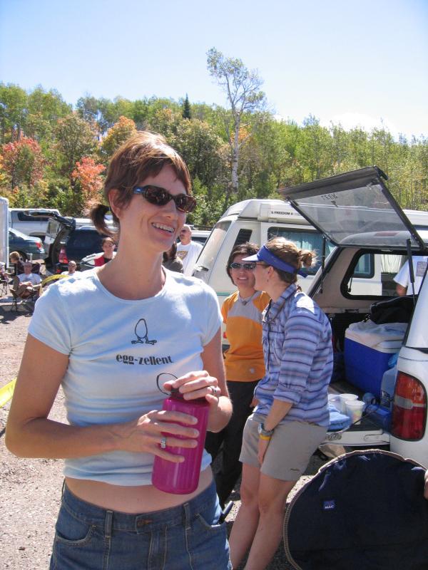 Mike Adams wife & crew, Marin